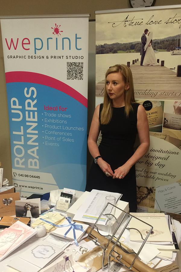 Wedding Expo 2016 weprint display