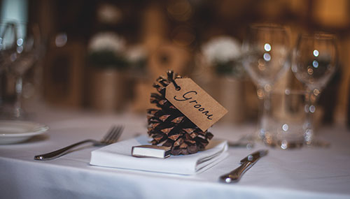 Printed Wedding Favours