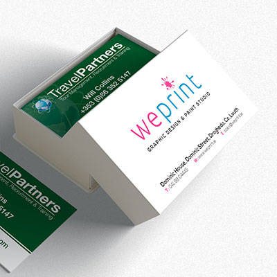 Business cards from WePrint.ie