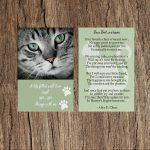 Cat Memorial Cards