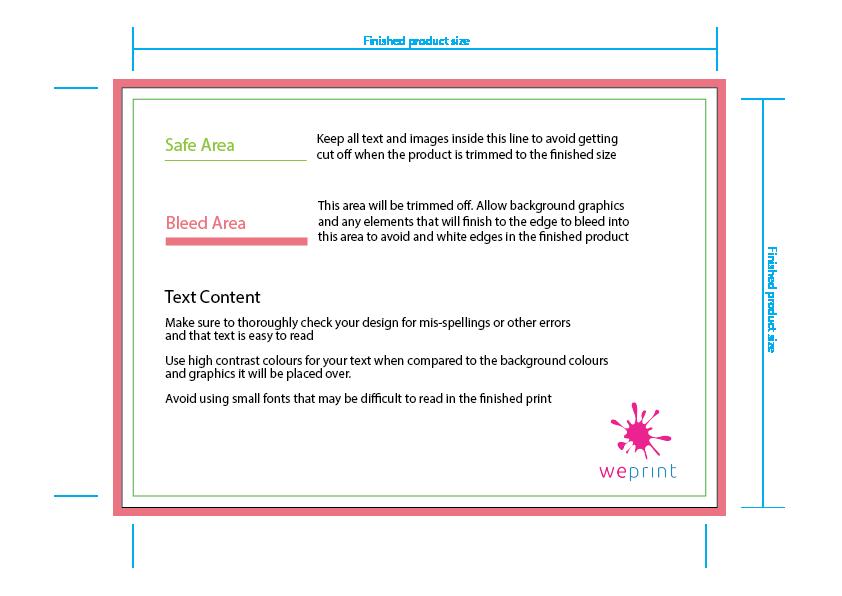 Print ready artwork guidelines weprint.ie