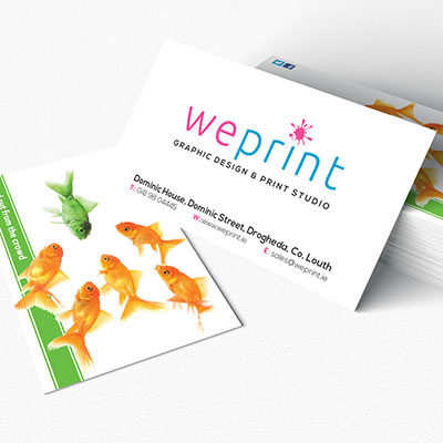 Business Card Printing by WePrint.ie